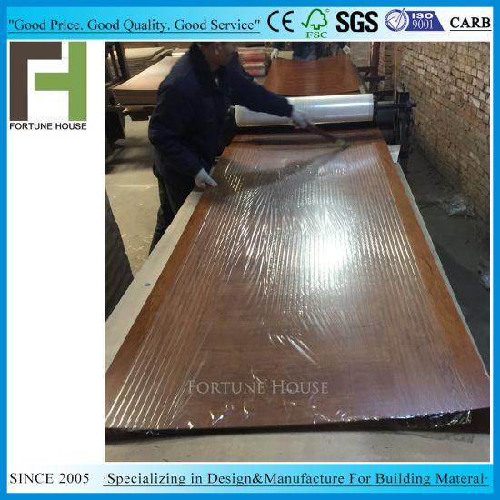 Factory Craftsman 3mm Alder Melamine Door Skin pictures & photos