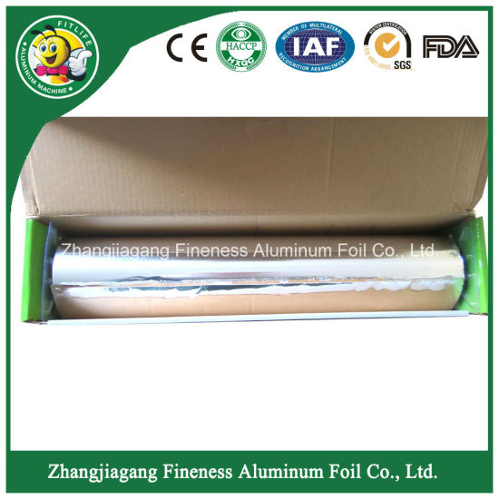 8011 Alloy Aluminium Foil PE Coated Aluminium Foil Big Rolls for Food Service and Home pictures & photos