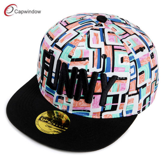 4c4933bfb9329 New Design Custom Snapback Caps Hats with 3D Embroidery (03291) pictures    photos