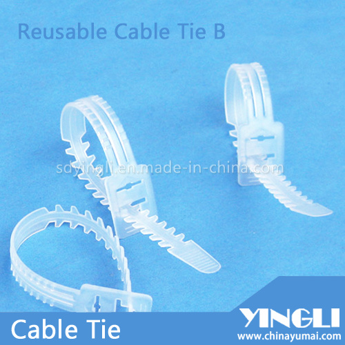 Reusable Cable Ties in Fish-Bone Shape pictures & photos
