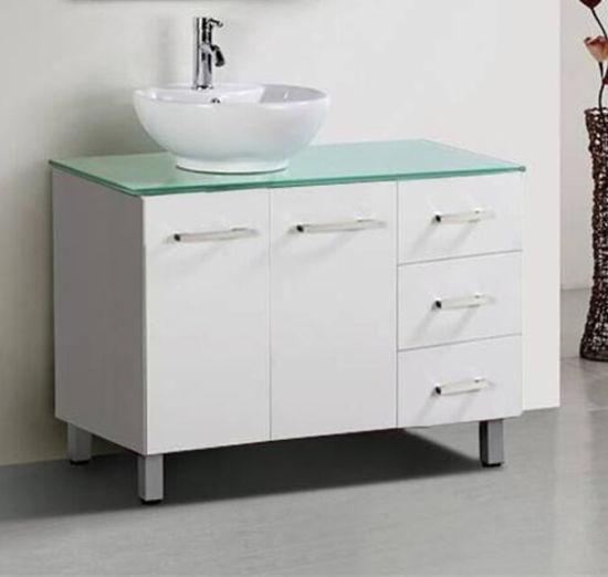 China Bathroom Vanity Plywood Cabinet, 65 White Bathroom Vanity