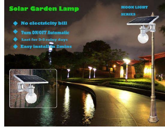 Solar Garden Lights 9w 12w Integrated
