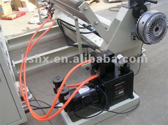 Hx-1300fq Conductive Fabric/Cloth/Roll Slitting Machine pictures & photos
