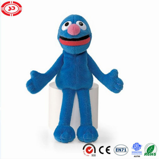 Grover Weird Guy Sesame Custom Puppet Plush Toy