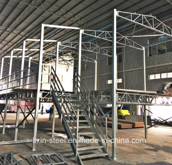 Hot DIP Galvanized Square Tube Steel Frame Modular House Building pictures & photos
