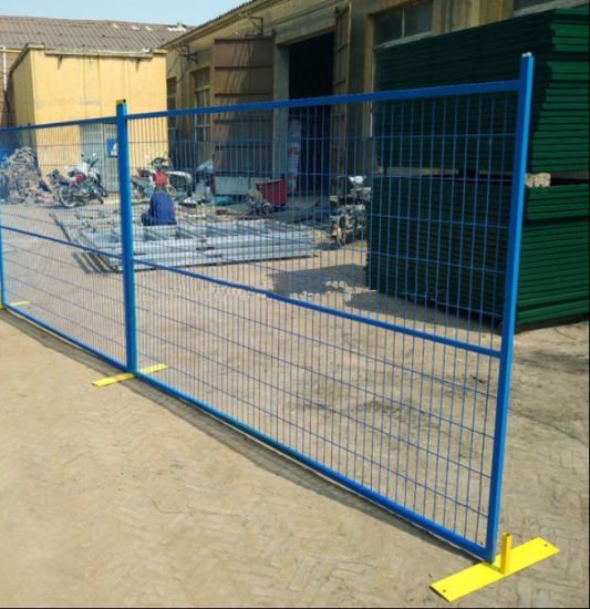 6FT*9.5FT Canada Construction Event Residential Safety Temporary Fence pictures & photos