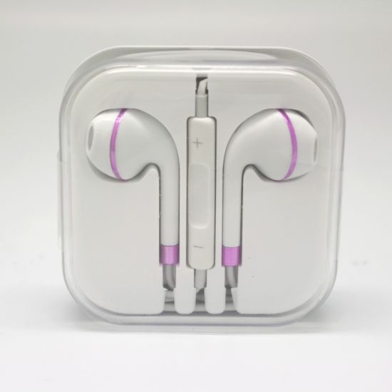 Heavy Bass Headset in-Ear Order Volume Design Earphone with Mic