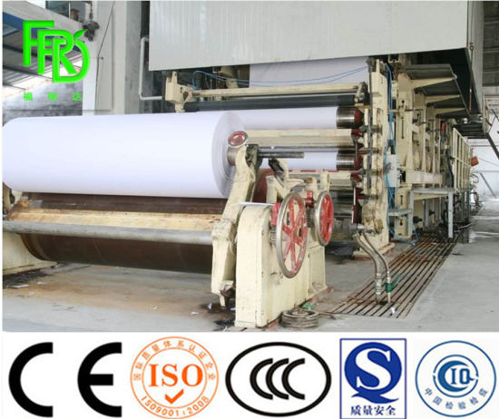 1760mm High Effective Culture Paper / Writing Paper /Office Copy Paper Making Machine