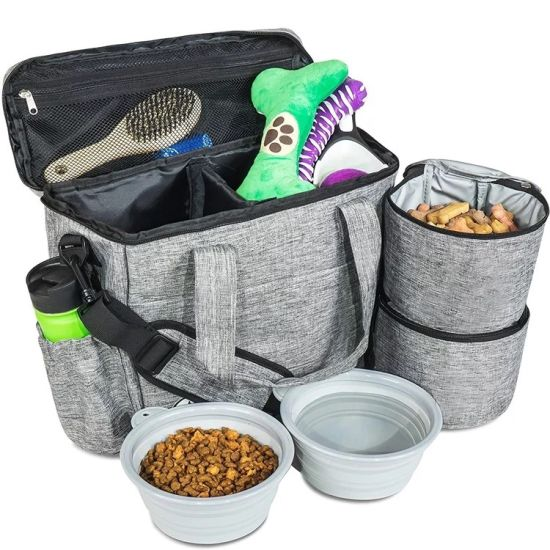 Hot Sell Dog Travel Bag Airline Approved Travel Set for Dogs