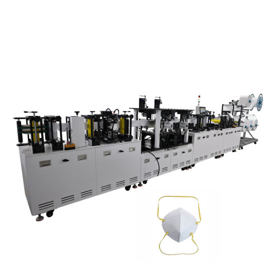KN95 Mask Machine Headband Type Automatic Producrion Line
