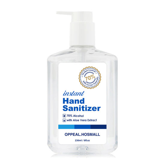 70% 75% Alcohol Instant Dry Hand Sanitizer Gel Wash-Free Anti-Bacteria Moisturizing Disinfectant Hand Gel Portable & Bulk Hand Sanitizer Gel
