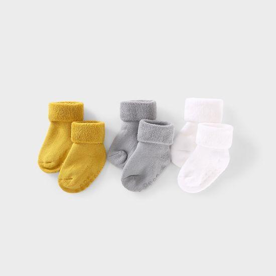 New Born Non Slip Organic Cotton Infant Baby Sock