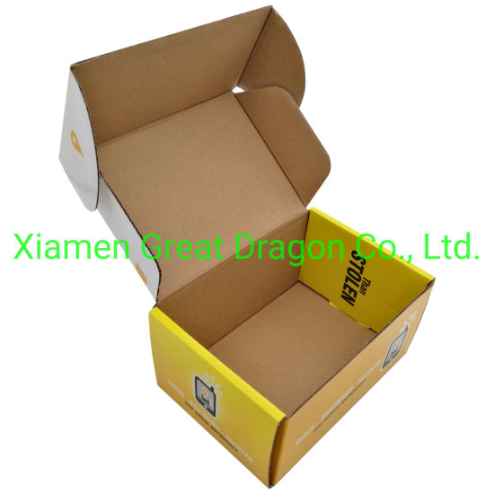 a Wide Variety Sizes of Corrugated Carton Box (CTB052)