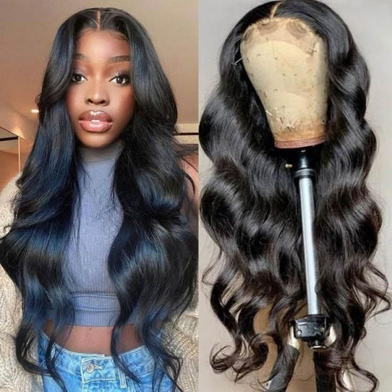 Wholesale Brazilian Human Hair Wig Factory High Quality Virgin Remy Transparent HD 13X4 Lace Front Wigs Human Hair