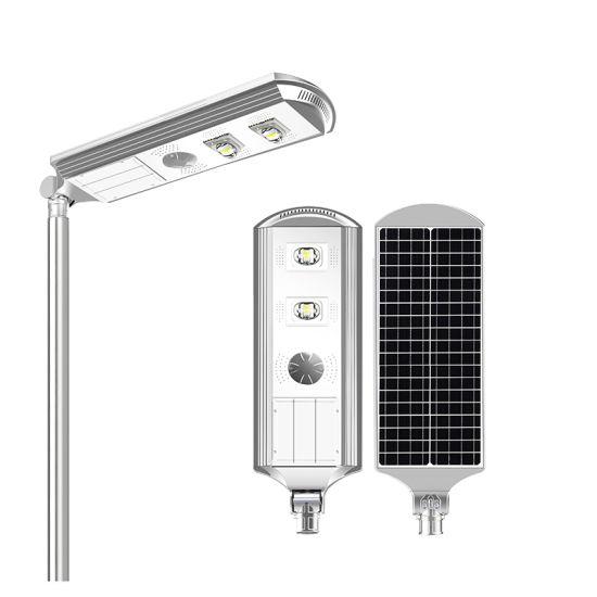 Solar Street Light 40W 50W 60W Waterproof Integrated 20W 30W 60W 90W 120W Solar Outdoor Light with Steel Pole