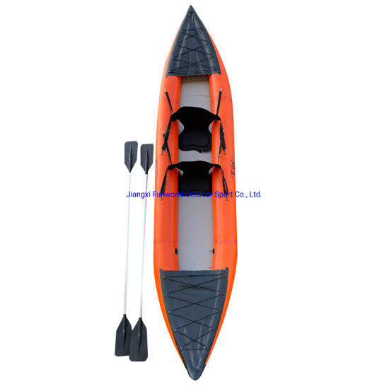 Inflatable Kayak with Factory Price and Popular Size Single and Double Person Sit on Sale