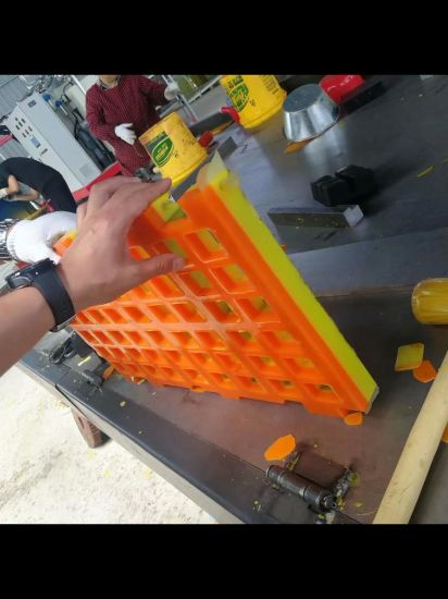High Quality Rubber Polyurethane Screen Mat for Fine Recycle Sand Machine