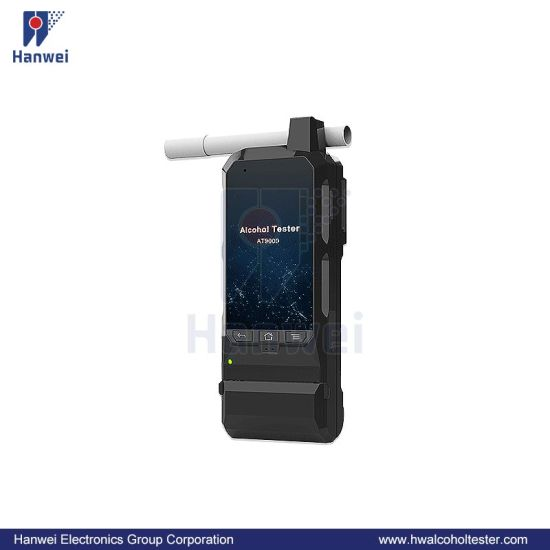 Law Enforcement Police Grade Professional Alcohol Tester/Breathalyzer with Changeable Fuel Cell Sensor Module