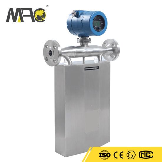 Macsensor High Quality Fast Response Ajustable Price Venturi Open Channel LPG Gas Flow Meter