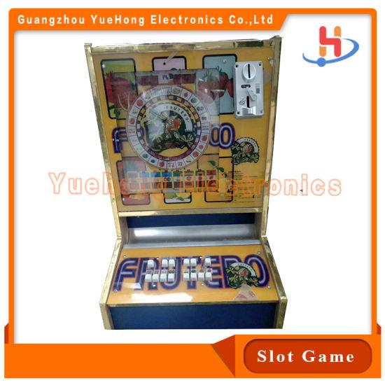 Ce Certifiate Mario Igs Original Board Metal Cabinet Slot Game Spinner