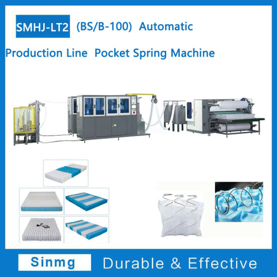 Automatic Production Line Pocket Spring Machine Mattress Machine Wire Forming Machine