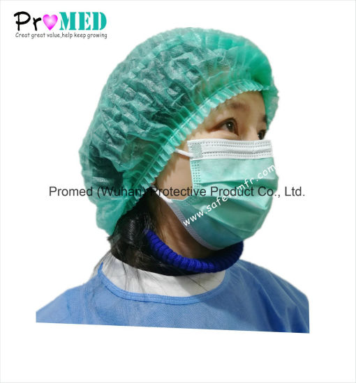 Surgical Supplies Disposable 3-ply Nonwoven Medical Face Mask