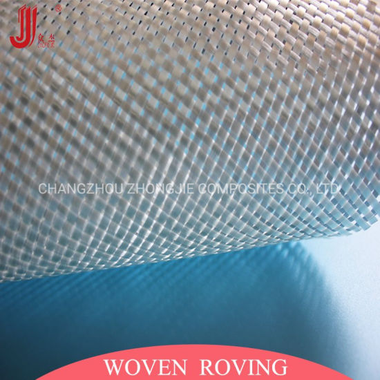 Fiberglass Woven Roving 600GSM Wr600 for Hand Lay-up
