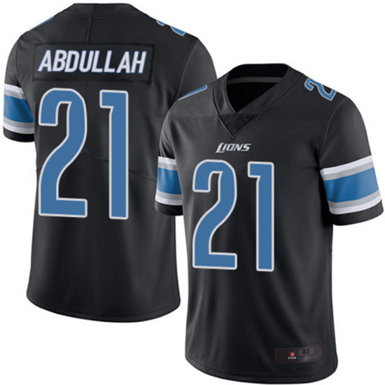innovative design 80651 0c9f1 China Ameer Abdullah Golden Tate Throwback Embroidered Team ...