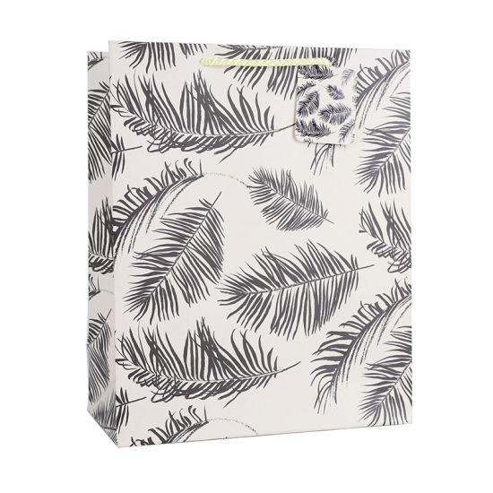Reusable Plant Design Art Paper Bag Colorful Spot Wholesale Custom Logo Printing