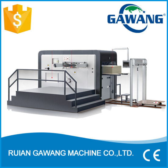 CNC Fully Automatic High Speed Flatbed Roll to Roll Die Cutting and Hot Stamping Machine