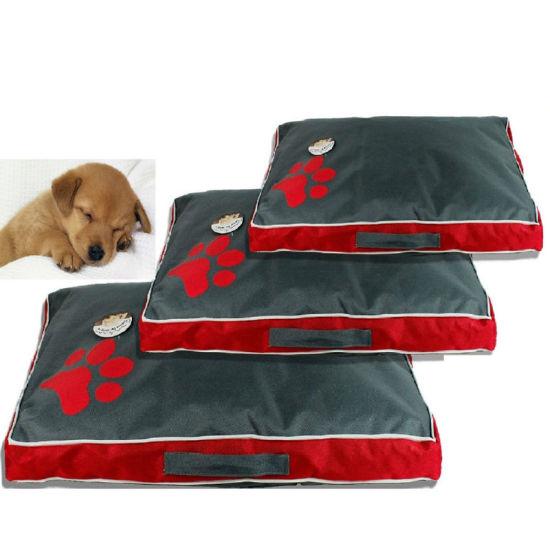 Soft Large Comfortable Kennel Paw Design Pet Dog Cat Pet Mat