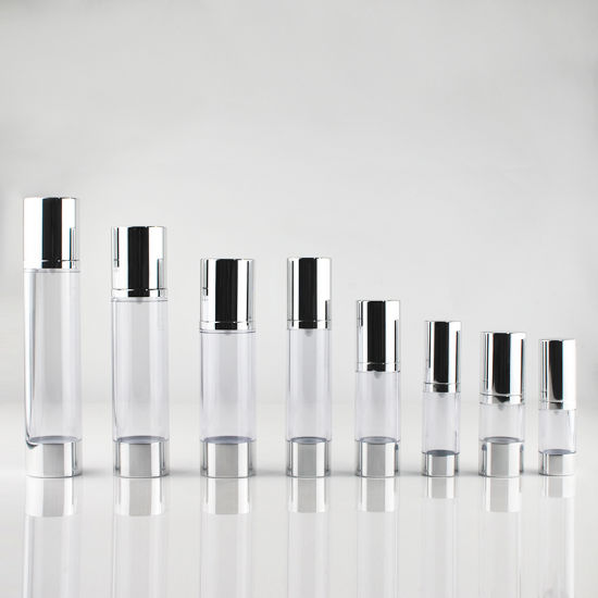 Acrylic Airless Bottle for Cosmetic Packaging (PPC-AAB-001) pictures & photos