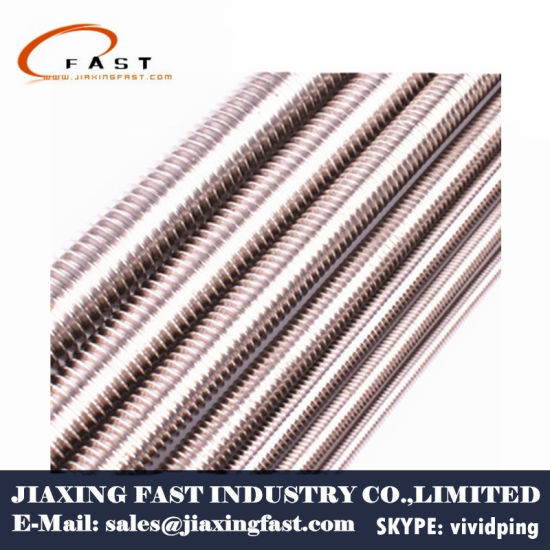 China A2/A4 Stainless Steel Threaded Rod - China A2
