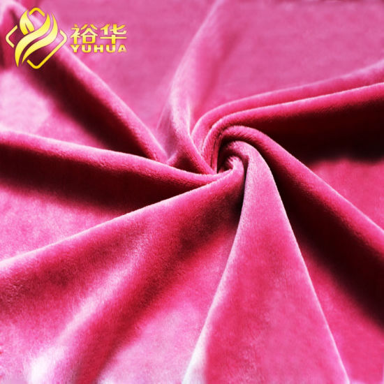 Factory Outlet 20mm PV Plush Fabric for Blanket, Toy, Home Textile, Shoes