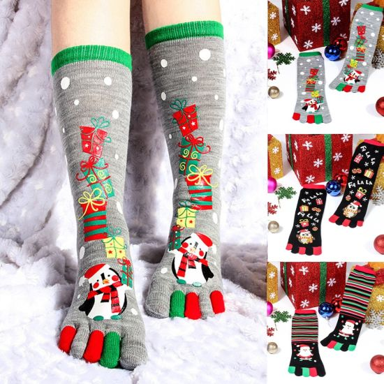 Резултат со слика за phoots of women socks for meery christmas