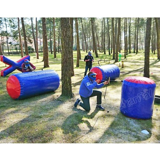 Commercial Archery Inflatable Paintball Cheap Bunker Set for Outdoor pictures & photos