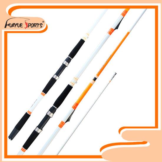 210cm 2PCS Inline Im8 Carbon Material H Action Boat Rod