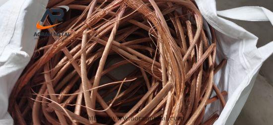 China Factory Hot Sale Copper Wire Scrap 99.99%