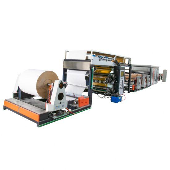Multiwall Kraft Paper Bag Making Machine with in Line Printing