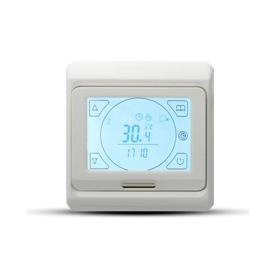 LCD Floor Heating Thermostat 16A Touch Screen Programmable Temperature Controller