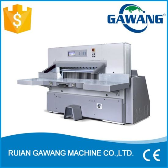 Hot Sale Excellent Performance Higher Safety Factor A4 Copy Paper Cutting Machine with Ce Certificate