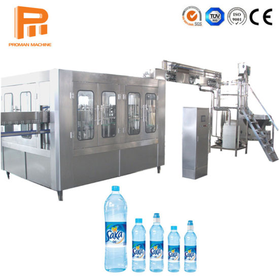 3 in 1 Production of Mineral Water Making Processing Equipment / Pure Water Washing Filling Capping Plant Machinery Price