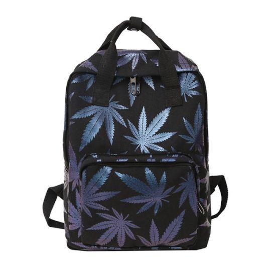 2019 Maple Leaves Backpack Laptop Daypack Bookbag for Travel College School
