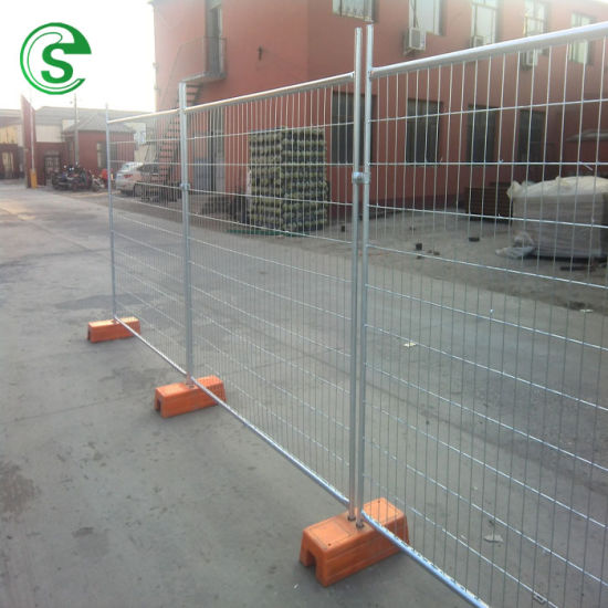 Municipal Traffic Temporary Portable Fence with ISO