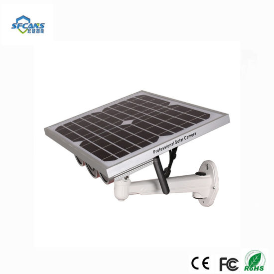 China 3G 4G WiFi CCTV Security Camera Outdoor Solar Battery