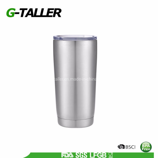 20 Oz Sublimation Stainless Steel Beer Tumbler