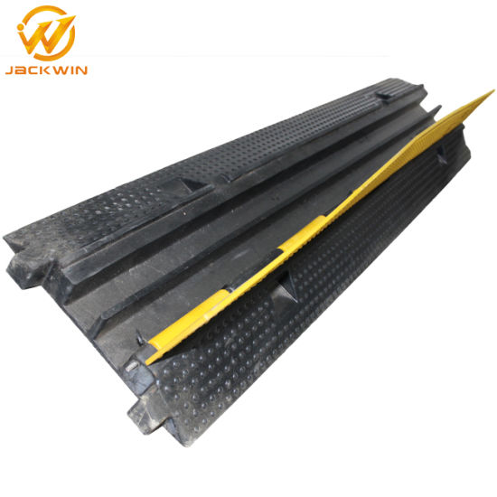 2 Channel Rubber Cable Channel Hump Protector Cable Ramp