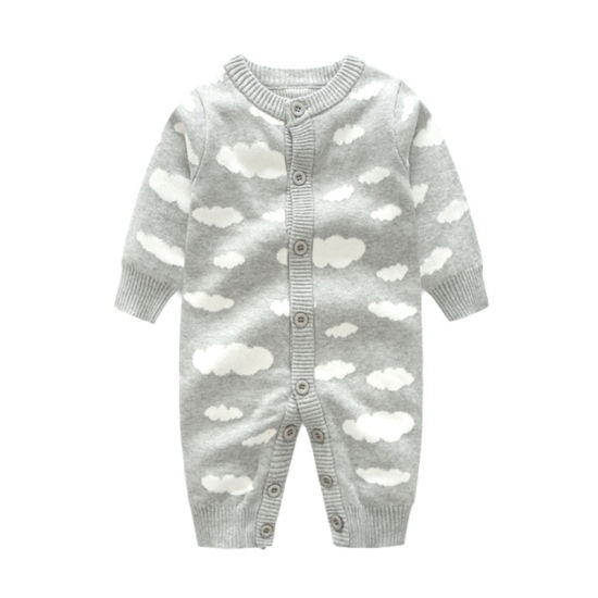 Custom Hot Sale Merino Wool Baby Romper