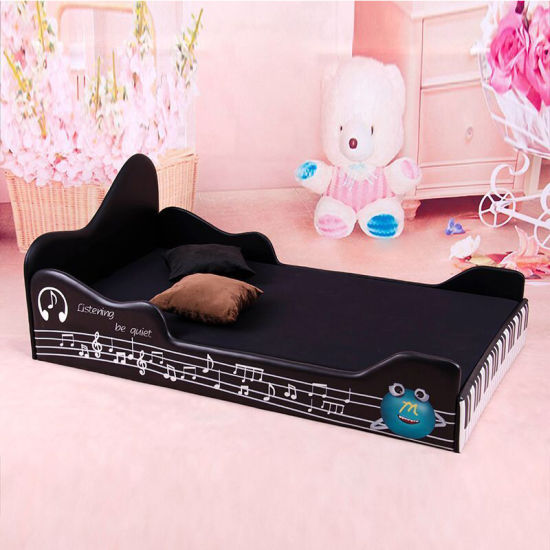Piano Children Bed Kids Room Furniture Bed