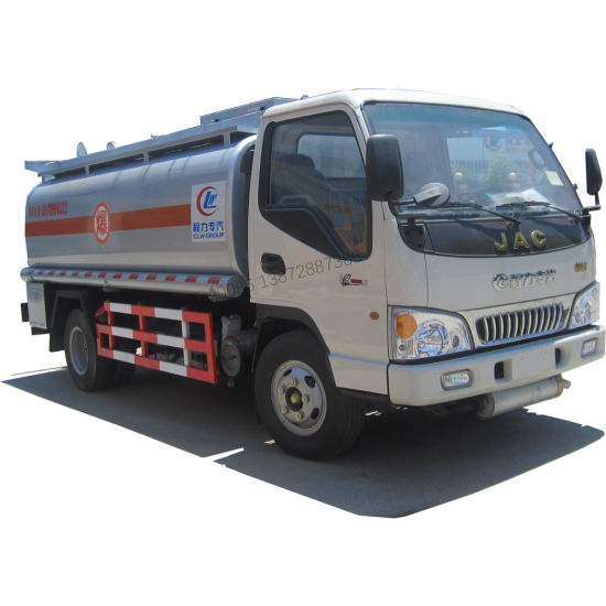 Famous Brand JAC Fuel Truck 4000liters-5000liters for Sale